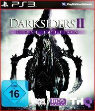 PS3 DARKSIDERS 2 -FIRST EDITION - 100 UNCUT  + EXTRAGAME - MULTILINGUAL
