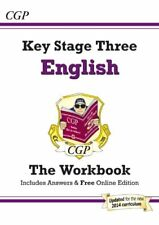 KS3 English Workbook (with answers)-CGP Books