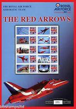 2008 flèches rouges Royal Air Force Aerobatic Team 90th Anniversaire Beauté feuille.