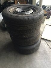 HONDA CIVIC NEAR NEW TYRES/RIMS SP SPORT 300 DUNLOP 195X65X91 X4