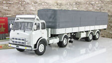 Scale model truck 1:43 MAZ-504V+ semi-trailer 5205 1970