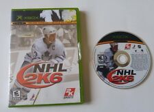 NHL 2K6 (Microsoft Xbox, 2005) disk and case mats sundin maple leaf