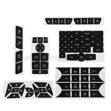 AC Climate Control Window Radio Button Repair Decals Sticker Kit For Mercedes V2