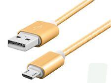 1,5M PREMIUM Handy USB NYLON LADEKABEL FÜR Samsung Galaxy Android Micro USB