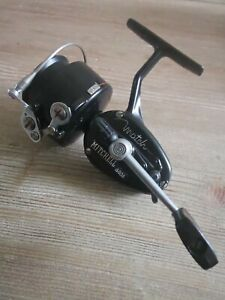 Vintage Black Mitchell 440A Match Reel In Excellent Condition (Serial # R-5-08)