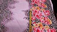 Print Quality Viscose Jersey Stretch Lycra Dress Fabric Printed Cotton Material