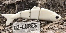 120mm Glidebait Swimbait Murrycod Barramundi UnPainted Blank Lure 5 Per Pack