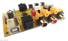 DAC Decoder USB Sound Card Optical Coaxial Digital AC3.DTS.5.1+Protection