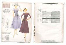 VOGUE Vintage Model Dress Pattern Number V1044  From 1956-1957 Design