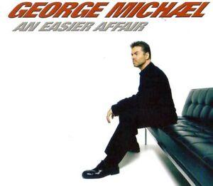 GEORGE MICHAEL  AN EASIER AFFAIR - CD MAXI JEWEL CASE 2 TITRES  2006 RARE
