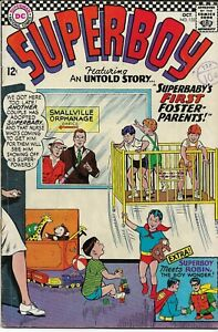 SUPERBOY #133 (1949 series) - Back Issue Fine Minus (5.0) Meets Robin