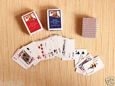 Re-ment Dollhouse Miniature Games Poker for blythe Barbie set   ( A )