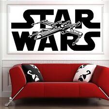 STAR WARS X WING FIGHTER vinyl wall art sticker decal bedroom