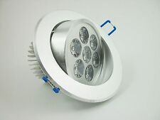 3W 5W 7W 9W 12W 15W 18W Recessed Dimmable LED Ceiling Downlight  Lamp + Driver