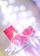 30 LED LUMINOSI BIANCHI Batteria Natale Lucine Decorazione Tavola Festa Misura
