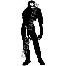 Zombie Full Body Vinyl Sticker Decal Hunter Horror Walker - Choose Size & Color
