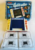 Vintage 1984 Tomy Creations Lights Alive Boxed All Pieces WORKING * VERY RARE *