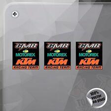 PEGATINA GMR MOTOREX KTM RACING TEAM DECAL VINILO VINYL STICKER DECAL ADESIVI