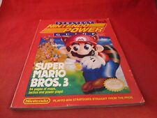 Officl Nintendo Power Super Mario Bros. 3 NES Strategy Guide Players Hint Book B