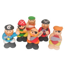 14 x Edible 3D Pirate & Treasure Chest Cupcake Toppers Decorations Party Cakes