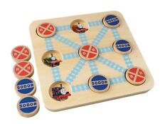 THOMAS THE TANK WOODEN TIC TAC TOE GAME BRAND NEW 3 YEARS & UP