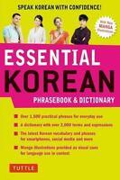 Essential Korean Phrasebook & Dictionary: Speak Korean with Confidence!: ...