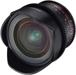 Samyang 16mm T2.6 UMC II Canon EF Full Frame VDSLR/Cine Lens