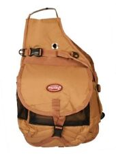 Showman BROWN Nylon Deluxe Multi Pocket Saddle Bag!!! NEW HORSE TACK!!!