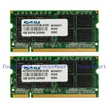 New 2GB 2x1GB PC3200 DDR1 DDR400 400 MHZ 200pin SO DIMM Laptop Memory Ram