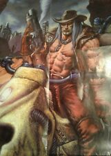 Pinnacle Deadlands Poster welcome to hell 34x22     catalogue on back RPG gaming