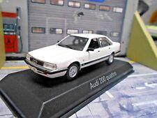 AUDI 200 Quattro Limousine Turbo 1989 weiss white Norev 1:43