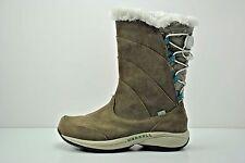 Womens Merrell Jovilee Alp Waterproof Brown Suede Winter Boots Size 7.5 J227320C
