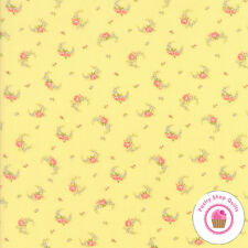 Moda GUERNSEY Yellow Floral 18643 14 B Riddle QUILT FABRIC YARDAGE Shabby Chic