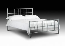 Double Bed Metal Frame - 4ft 6in Braemar FREE DELIVERY