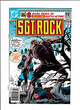 "SGT. ROCK #344  [1980 NM-]  ""NAKED SOLDIER"""