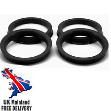 NEW SPIGOT RINGS 65.1 - 72.6 VW TRANSPORTER T5 BMW ALLOY Free Delivery