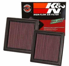 2 x K&N 33-2399 Air Intake Filter 2007-2019 G35 G37 350Z 370Z EX35 G25 Q60 QX50