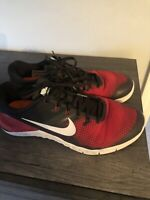 Nike Metcon 4 Mens Cross Training Shoes Size 10 Red/Black Very Good Condition