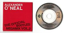 Alexander o 'neal CD-Single 3-Inch The Official Bootleg Megamix vol. 2 © 1989 CBS