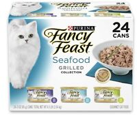 Purina Fancy Feast Grilled Feast in Gravy Canned Wet Cat Food (24 pack)