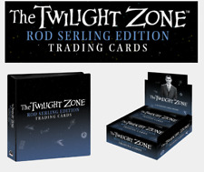 2019 Twilight Zone Rod Serling Edition Trading Card Sealed Box & Official Binder