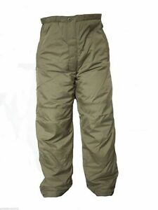 Thermal Insulated Olive Trousers British Army PCS Stuff Sack MTP NATO Fishing