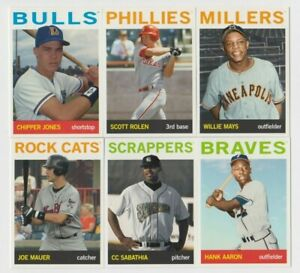 (15) DIFFERENT 2021 TOPPS PRO DEBUT MiLB LEGENDS INSERT LOT WILLIE MAYS, THOME +