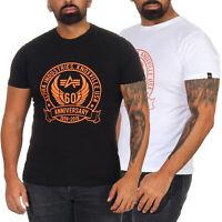 Alpha Industries Herrenshirt Herren T-Shirt kurzarm Shirt Tee Rundhals 198507