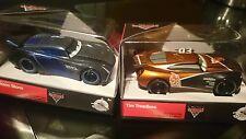 Disney Pixar cars 3 Die cast   Jackson Storm & Tim Treadless NIB RARE