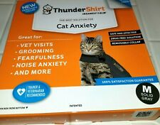 New listing Thundershirt For Cats Anxiety 9-13 Lbs, Size Medium, Solid Gray