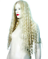 HUMAN HAIR Remi Remy Full Lace Wig Wigs Blonde Mix Wavy Deep Wave 613/24