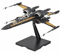 Bandai Star Wars Poe's Boosted X-Wing Fighter 1/72 Scale Kit 4549660197522