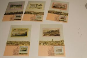1988 THE EARLY YEARS STAMP  MAXI CARDS SET OF 5