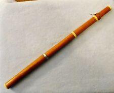 Rare American Single Key Boxwood Flute, C. Peloubet, N.Y., c.1829-36 LOWERPRICE